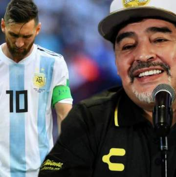 Argentina legend Maradona denies lashing out at Lionel Messi, set to do one important thing