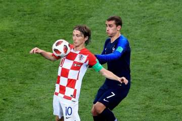 FIFA The Best award winner Luka Modric tips World Cup winning French player for Ballon d'Or