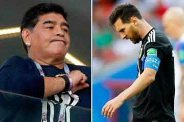 Barcelona finally replies Diego Maradona after damaging statement against Lionel Messi
