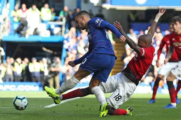 See what Ex-Chelsea manager accused Hazard and Willian of not doing as Chelsea were held to a 2-2 draw by Manchester United