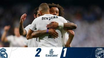 Benzema, Marcelo scores as Real Madrid get much-needed win against Viktoria Plzen in UCL tie