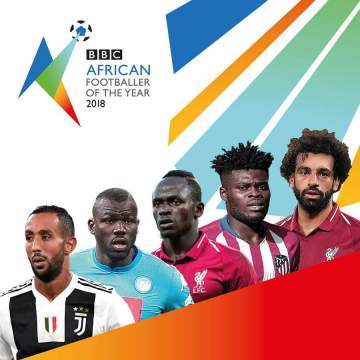 Salah, Mane top 5-man list for African footballer of the year, Super Eagles stars ignored