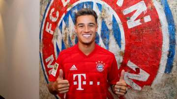 Philippe Coutinho joins Bayern Munich on season-long loan from Barcelona with £109.8m option to buy