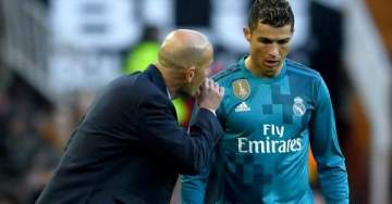 Real Madrid reveal they want Zidane and Ronaldo back at the Bernabeu