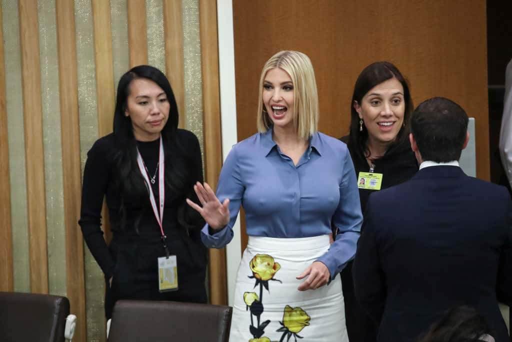 vanka Trump's Bra-less Outfit At UNGA Grabs World Attention (Photos)