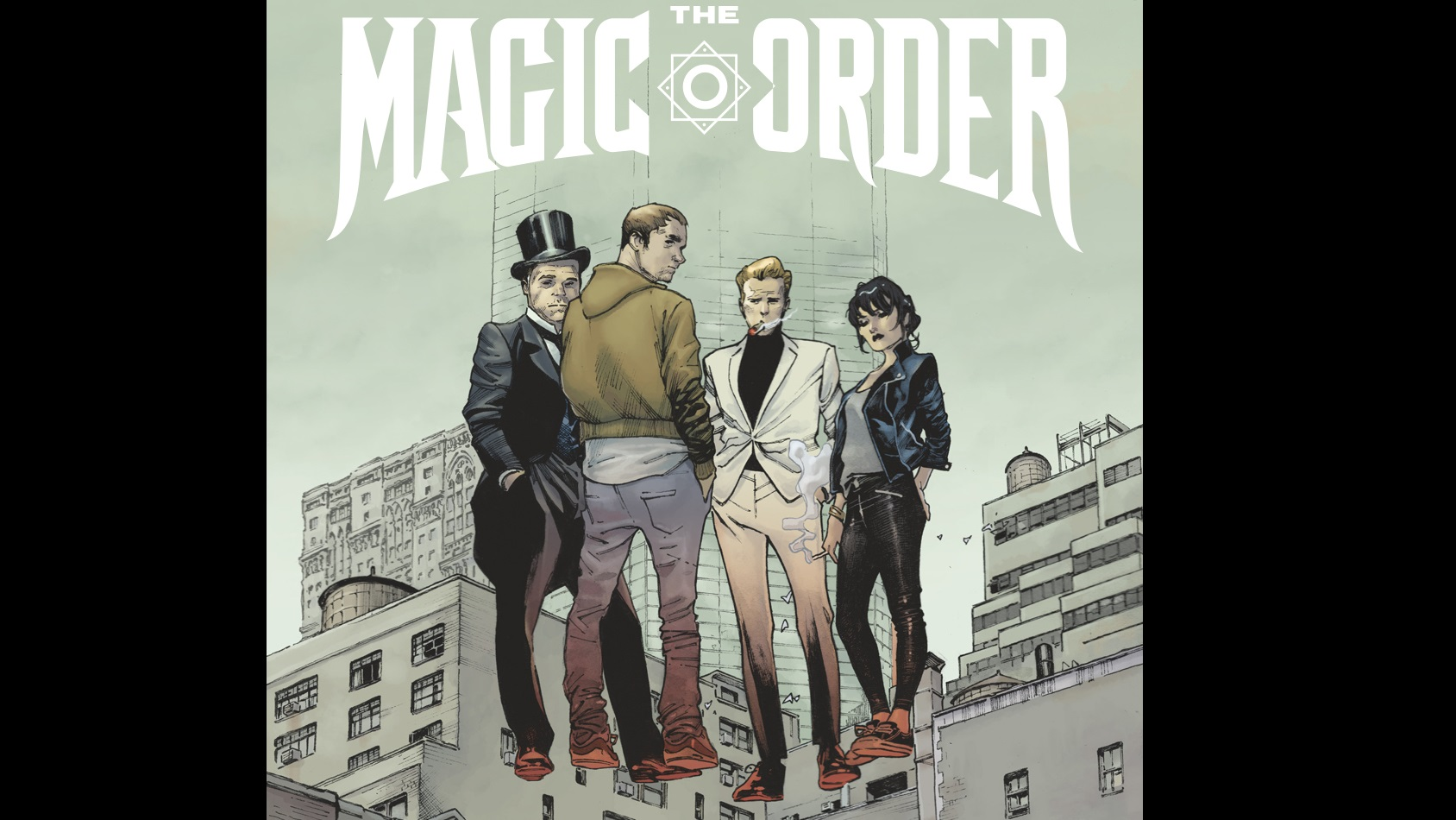 Mark Millar The Magic Order