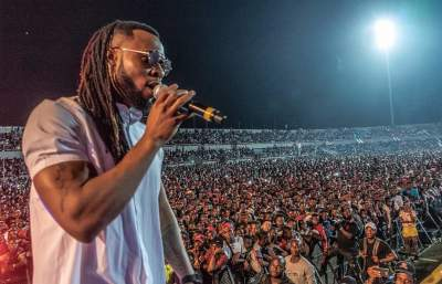 Check Out The Massive Crowd Phyno Pulled Yesterday At Enugu Phynofest (Photos)