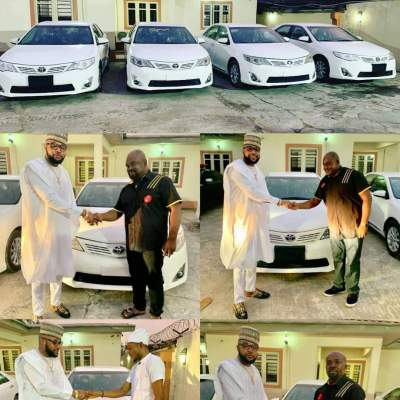 E-Money gives out four brand new Toyota cars as he marks his birthday (Photos)