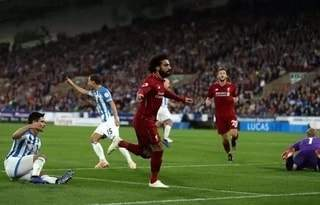 Mohamed Salah's lone strike powered Liverpool to 1-0 win over Huddersfield Town