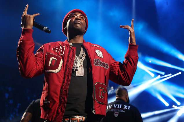 Meek Mill performing at the Barclays Center (Billboard.com)