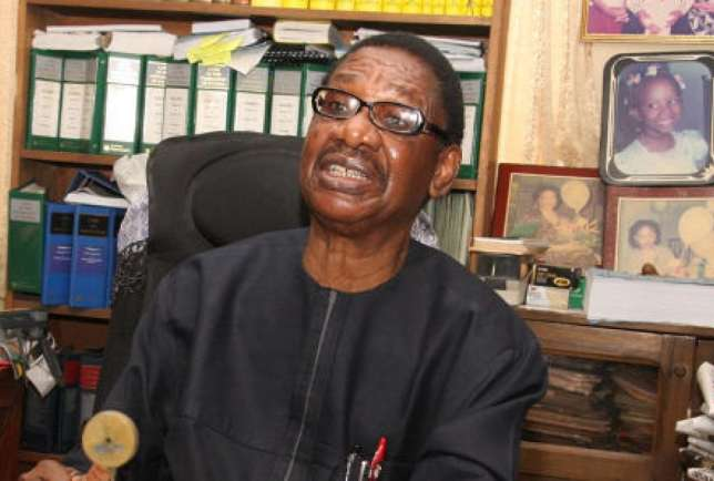 Chairman of the Presidential Advisory Committee Against Corruption (PACAC), [b]Professor Itse Sagay[/b] (Okay Nigeria)