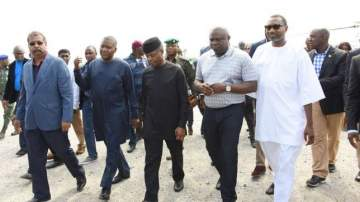 Ambode: Lagos Governor, Otedola, Dangote spend the weekend together