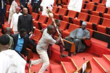 Falana: Lawyer says Senate can hold proceeding without mace