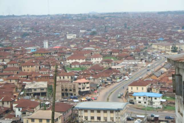 An Aerial View Of The City Of Ibadan