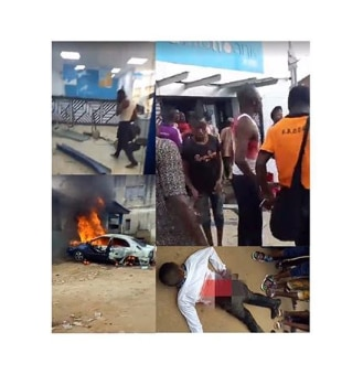 Two reportedly killed in Ekiti bank robbery (instagram)