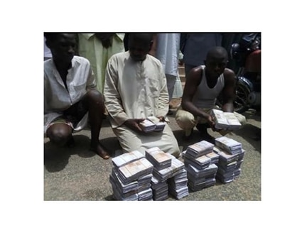 Fake currency syndicate busted Gombe State Police Command (instagram)