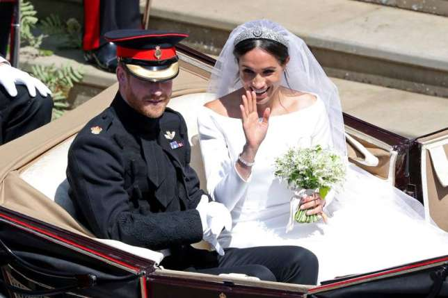 Royal Wedding: Prince Harry and Meghan Markle tie the knot (Shutterstock)