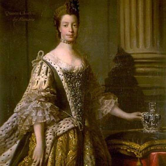 Sophie Charlotte is, according to historians, the first black British royalty. (Pinterest)