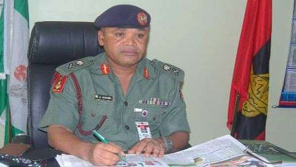 Army Spokesman, Brig.-Gen. Texas Chukwu (Daily Post Nigeria)