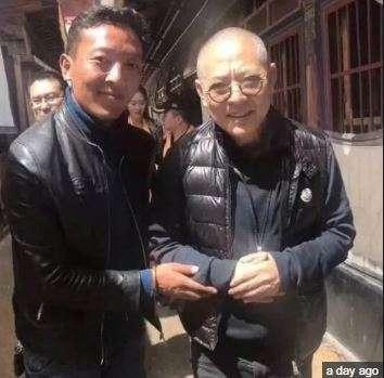 New viral photo of Jet Li (Shangiist)