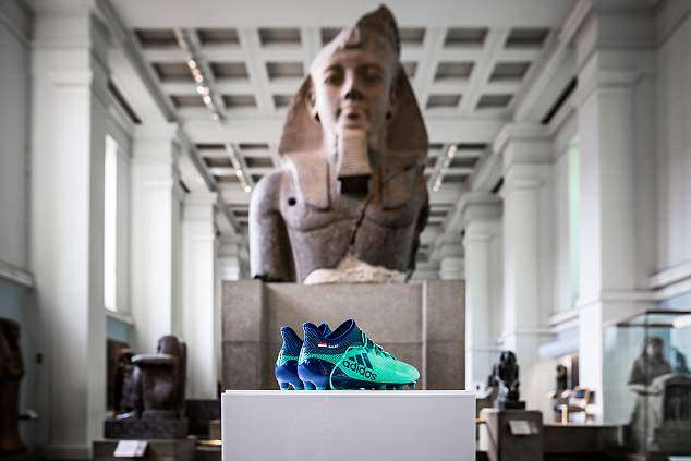 Boots of Liverpool star Salah displayed among Egyptian collection in British Museum (Daily Mail)