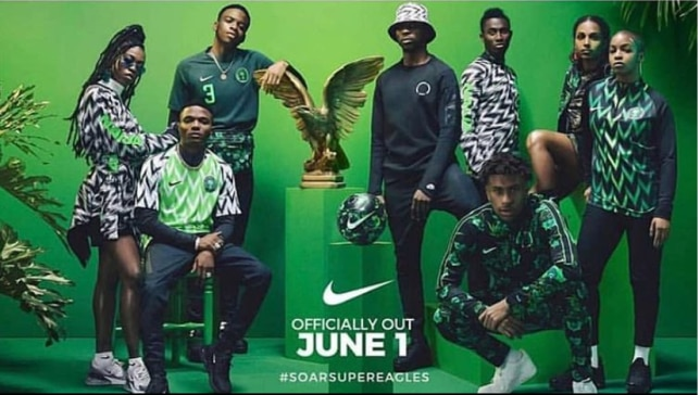 The whole Super Eagles collection design by Nike have gone on sale (Instagram/ @irenettya)