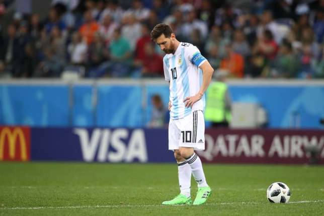 Messi is searching for his first goal of the 2018 FIFA World Cup (Squawka)