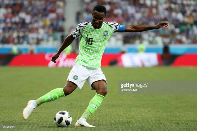 Mikel Obi is the captain of the Super Eagles (Catherine Ivill/Getty Images)