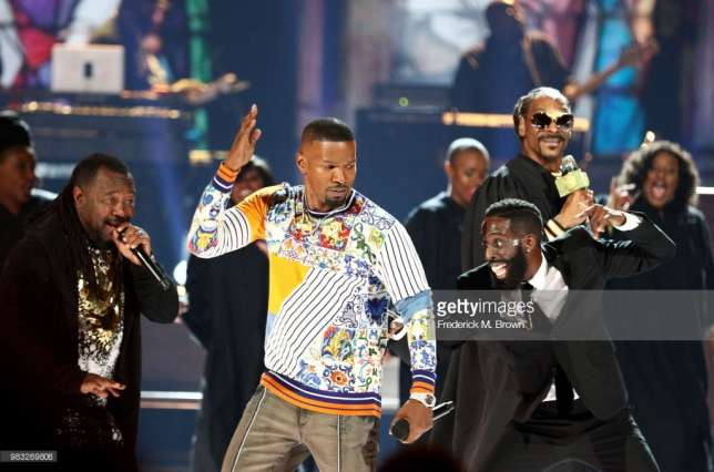 Jamie Fox was the host of the BET Awards 2018 (GettyImages/Frederick M Brown)