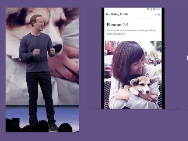 Facebook dating app F8 2018 (Facebook)