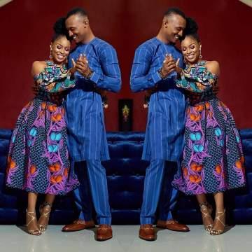 [PHOTOS] Gideon Okeke & Fiancée Chidera Uduezue Share Loved Up Images