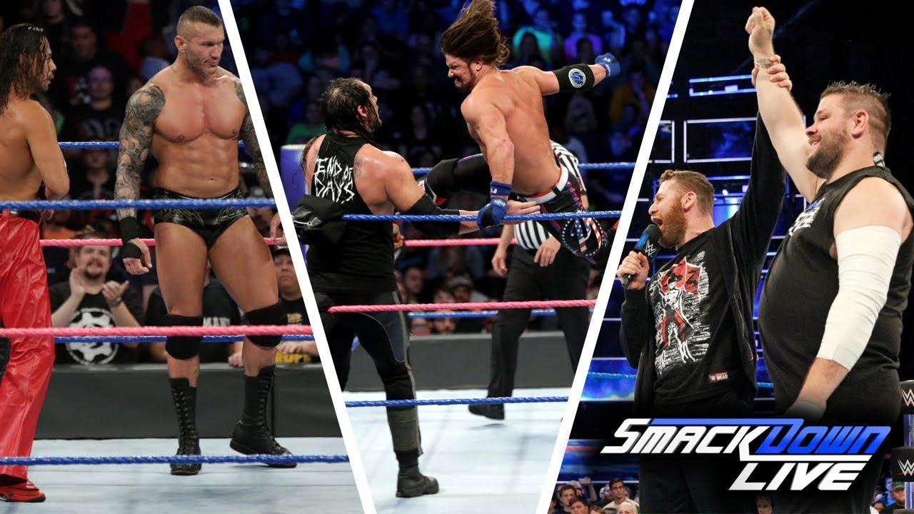 WWE SmackDown (Oct-10-2017) Highlights