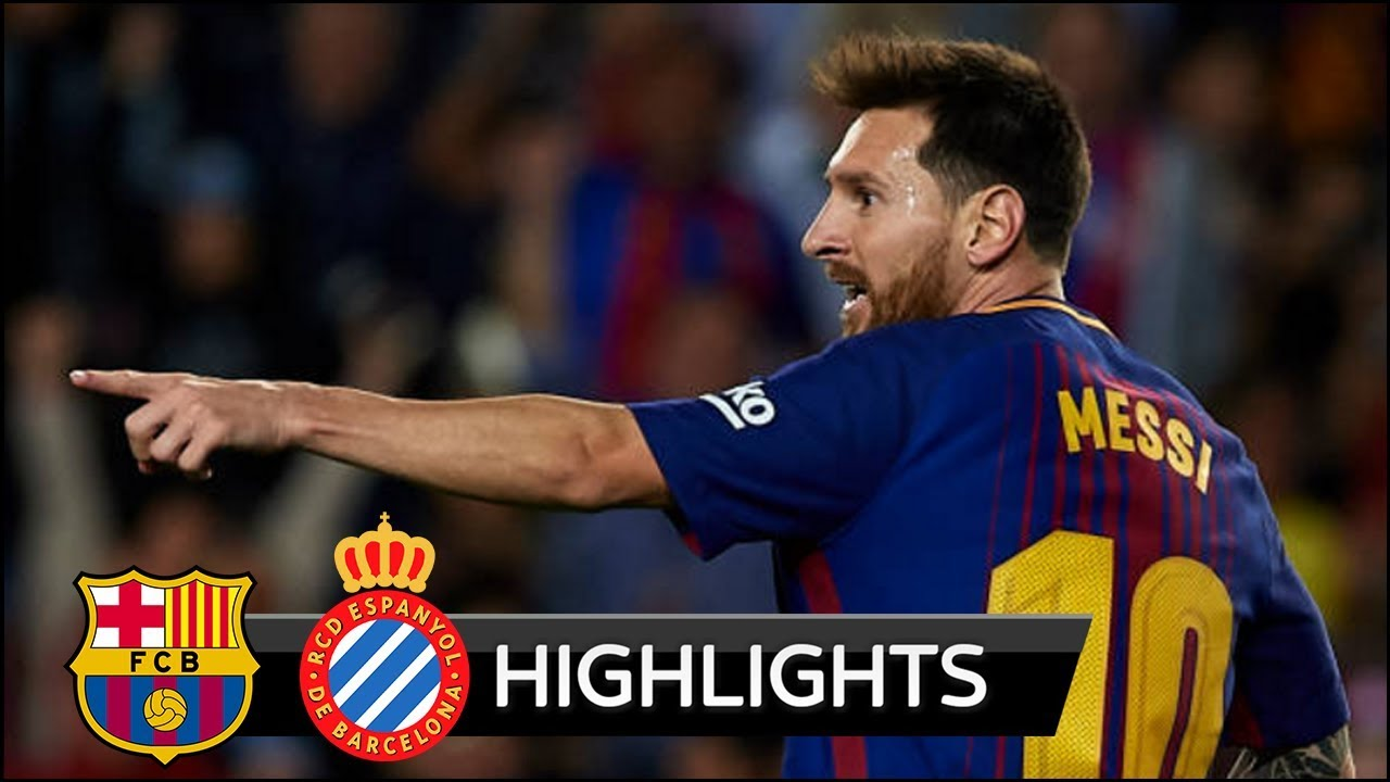 Barcelona 5 - 0 Espanyol (Sep-9-2017) La Liga Highlights