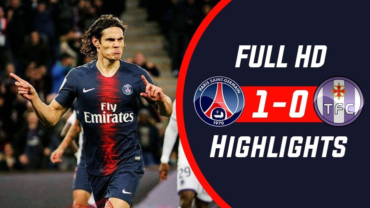 PSG 1 - 0 Toulouse (Nov-24-2018) Ligue 1 Highlights