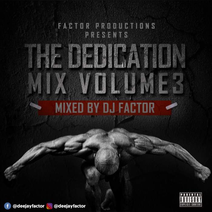 DJ Factor - The Dedication Mix (Vol. 3)