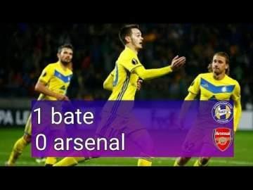 Video: BATE 1 - 0 Arsenal (Feb-14-2019) UEFA Europa League Highlights
