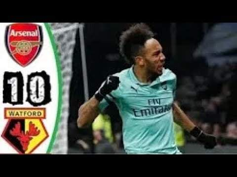 Watford 0 - 1 Arsenal (15-APR-2019)  Premier League Highlights