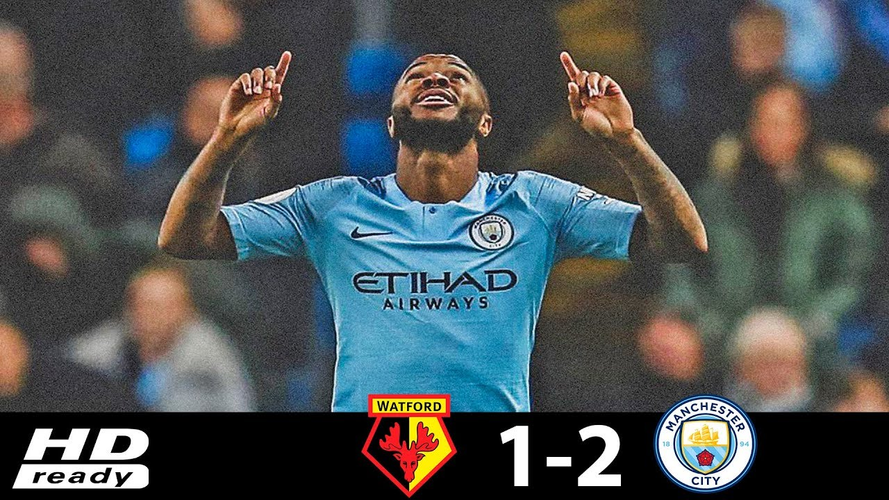 Watford 1 - 2 Manchester City (Dec-04-2018) Premier League Highlights