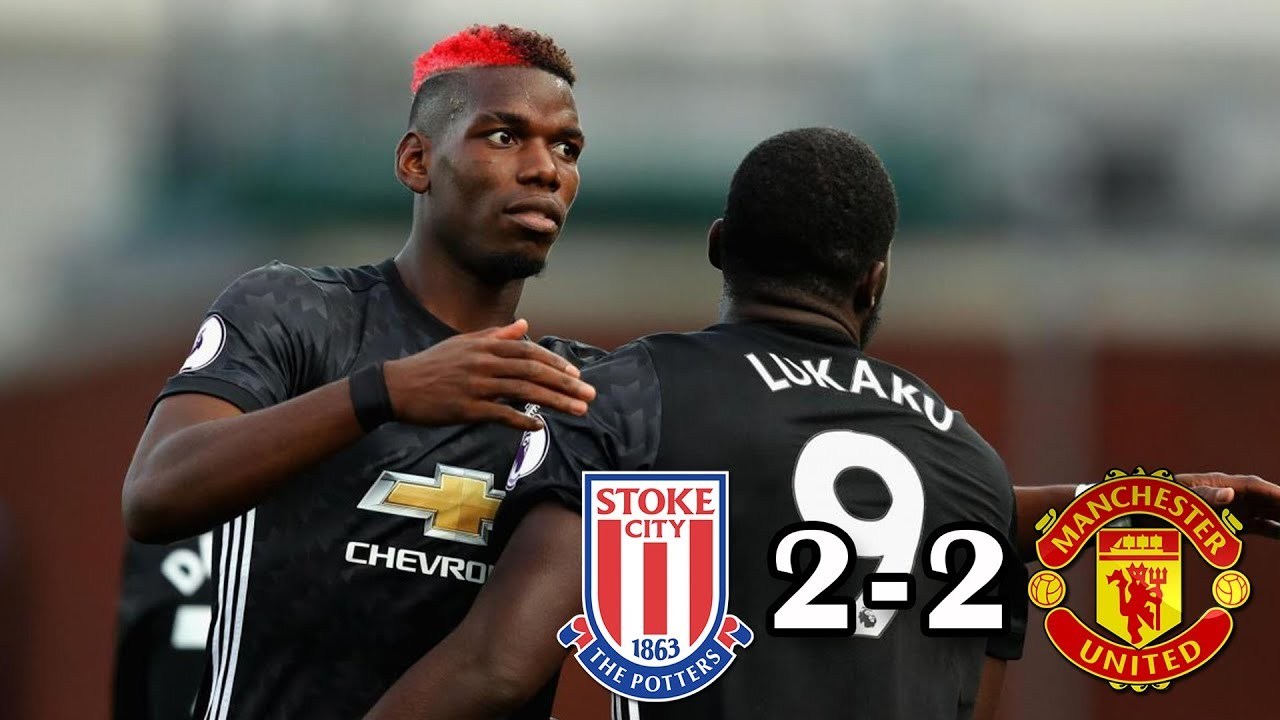 Stoke City 2 - 2 Manchester United (Sep-9-2017) Premier League Highlights