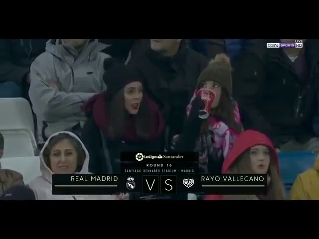 Real Madrid 1 - 0 Rayo Vallecano (Dec-16-2018) La Liga Highlights