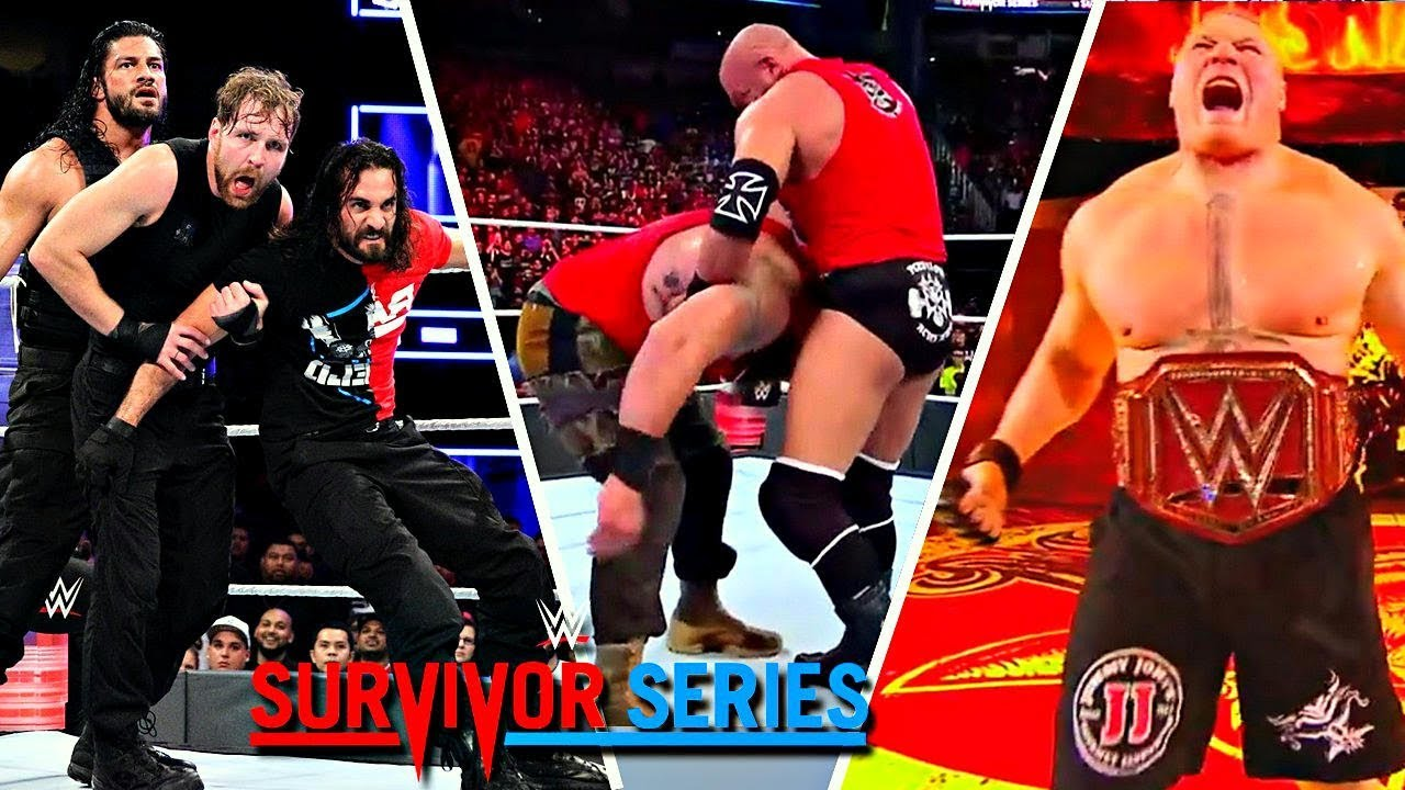 WWE Survivor Series 2017 Highlights