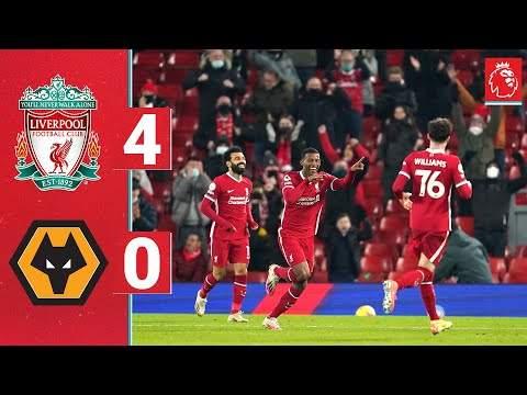Video: Liverpool 4 - 0 Wolves (Dec-06-2020) Premier League Highlights