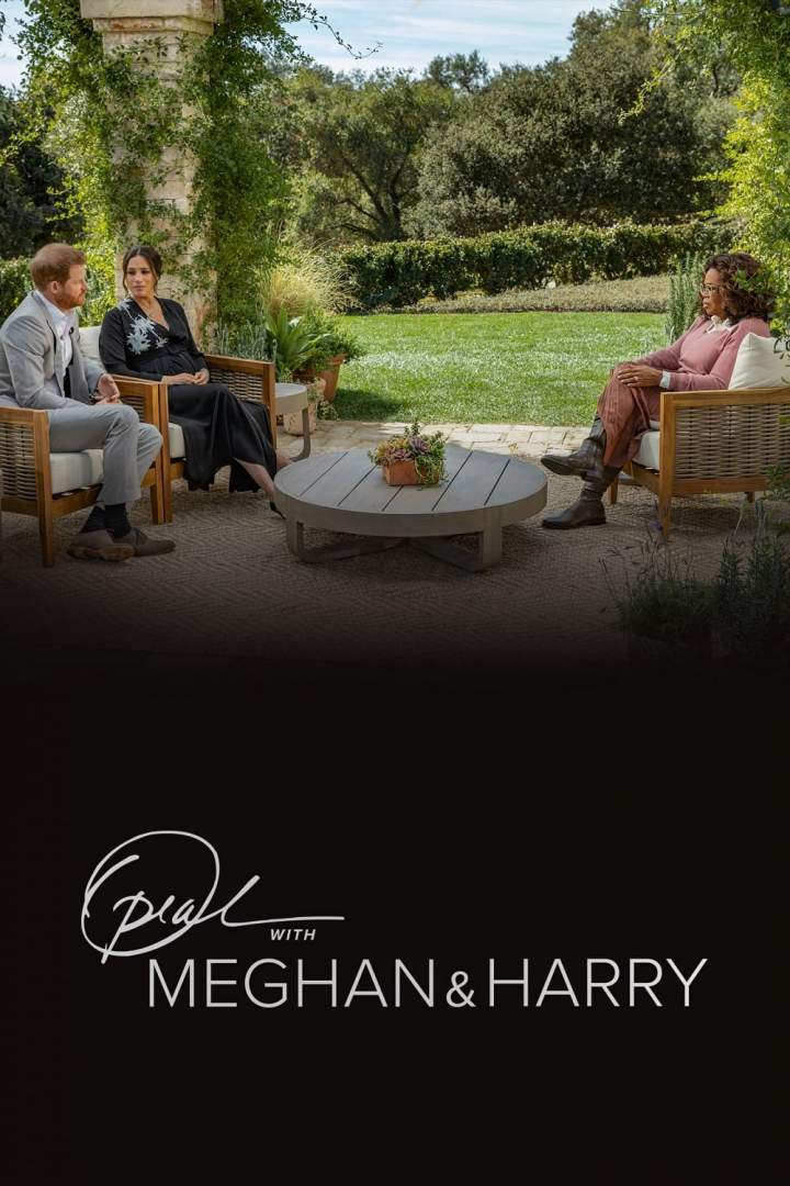 Oprah with Meghan and Harry (2021)