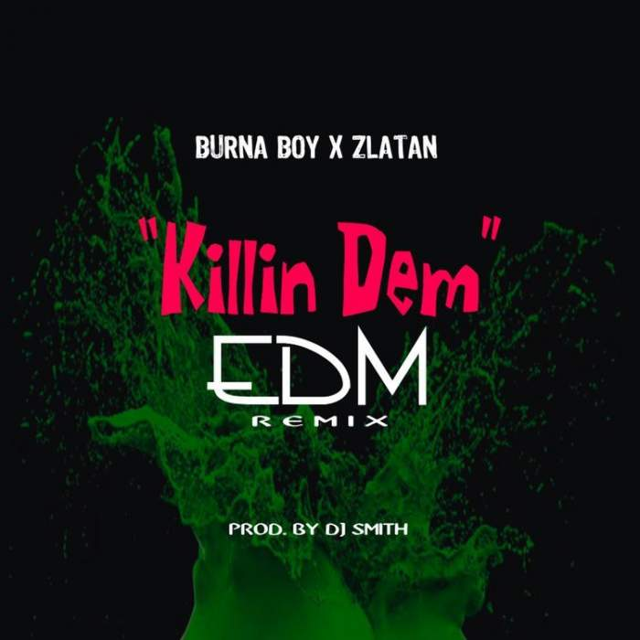 Burna Boy & Zlatan - Killin' Dem (EDM Remix)