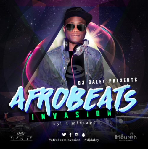 DJ Daley - Afrobeats Invasion (Vol. 4)
