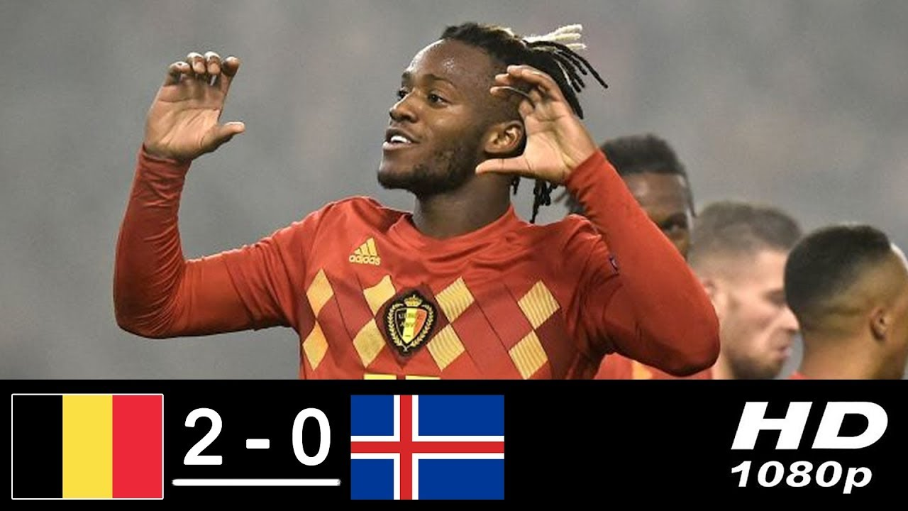 Belgium 2 - 0 Iceland (Nov-15-2018) UEFA Nations League Highlights