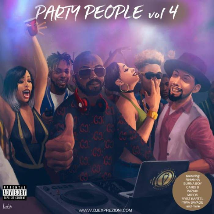 DJ Exprezioni - Party People Mix (Vol. 4)