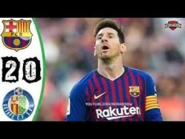 Video: Barcelona 2 - 0 Getafe (12-MAY-2019) La Liga Highlights