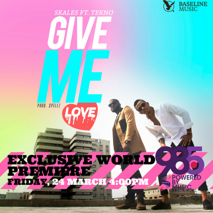 Skales - Give Me Love (ft. Tekno)