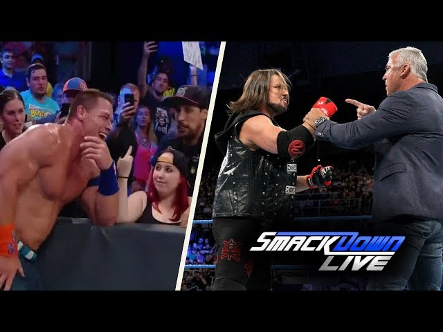 WWE SmackDown (Aug-15-2017) Highlights